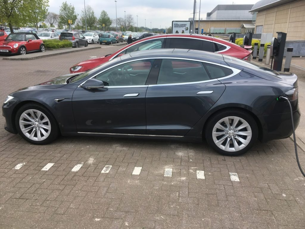 UK electric vehicles writer for prestige cars like this