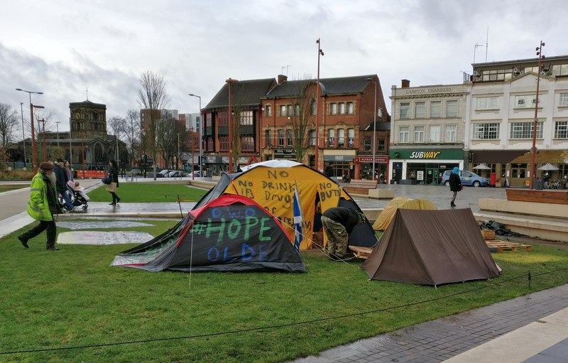 Social affairs writing - homelessness